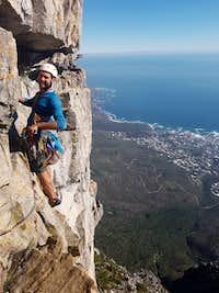 Jaco on Table Mountain