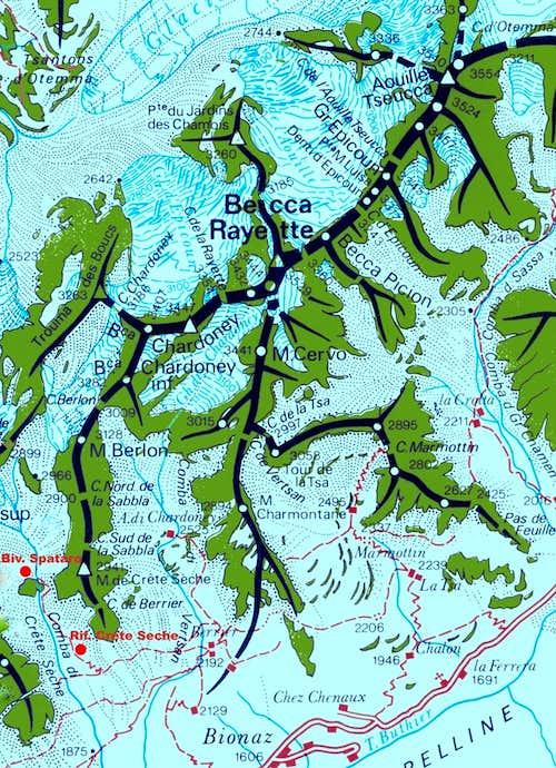 Becca Rayette map