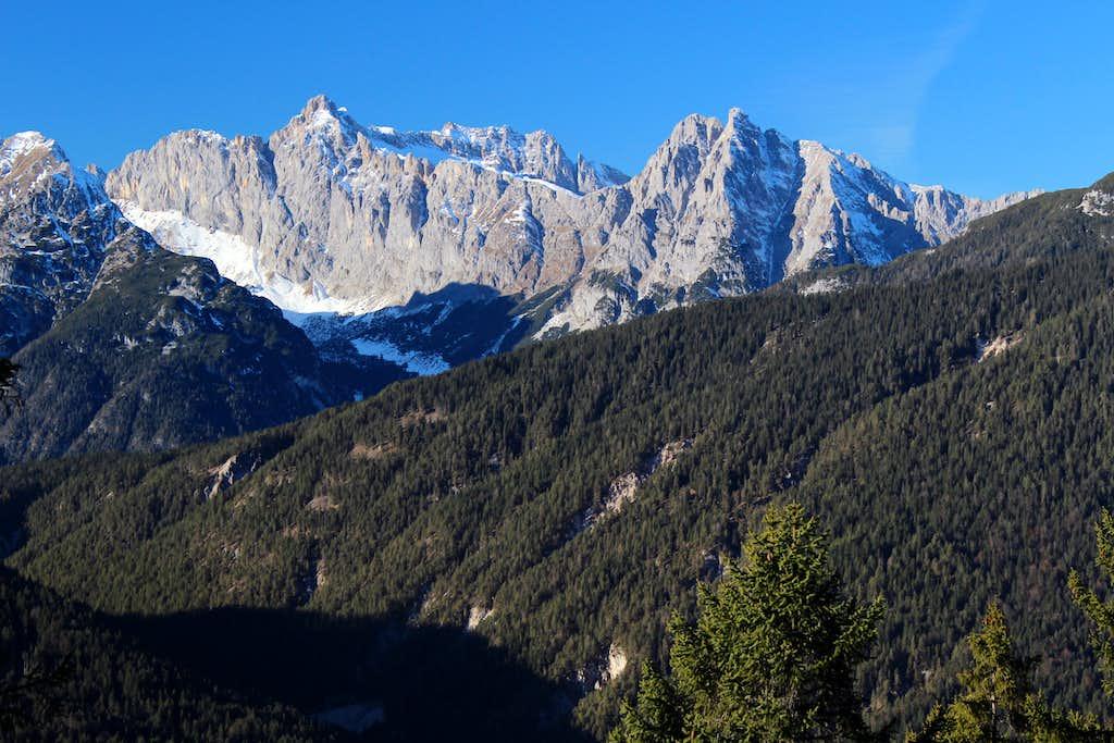 Reither spitze round trip: Ofelekopf (2478m)