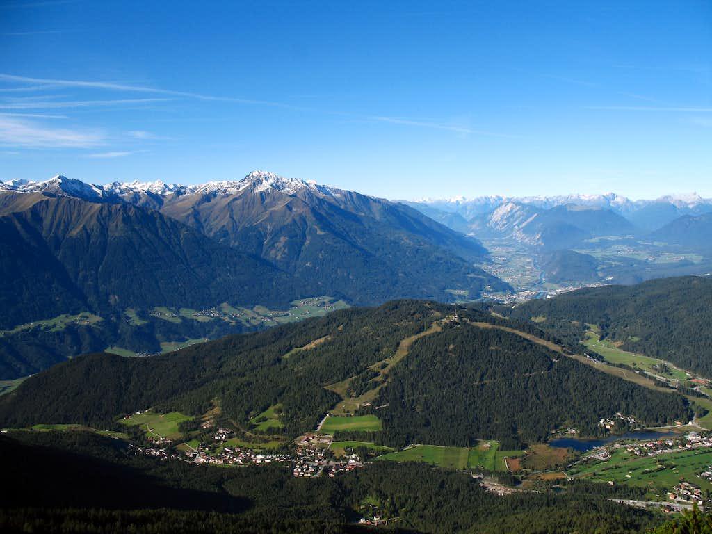 Reither spitze round trip: Inn valley
