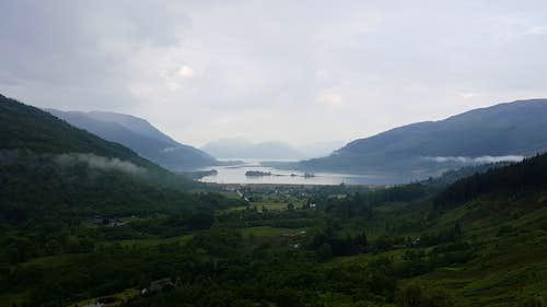 Loch Leven and Glencoe Village