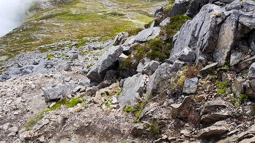 The path up Sgorr na Ciche