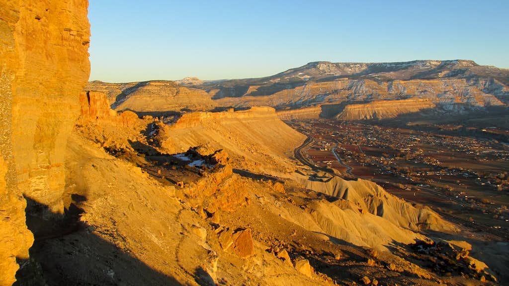 Grand Mesa from Mount Garfield