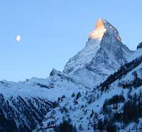 Photo taken from Zermatt 2005