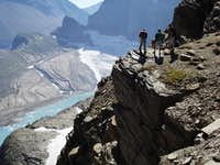The View from Grinnell Glacier Overlook