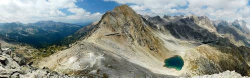 Fremamorta Mount, Pass and Lakes