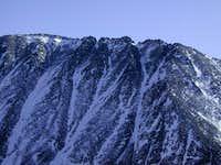 Upper west ridge of Quandary...