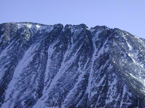 Upper west ridge of Quandary...
