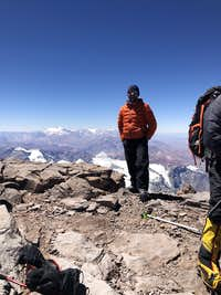 highest point in S America!