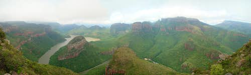 Blyde River Canyon Panorama