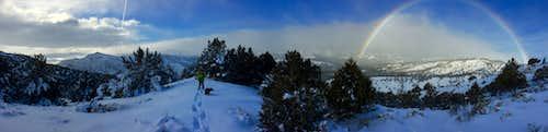 Warner Mountains panorama