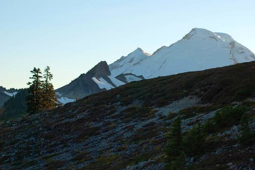 Coleman Pinnacle and Mount Baker