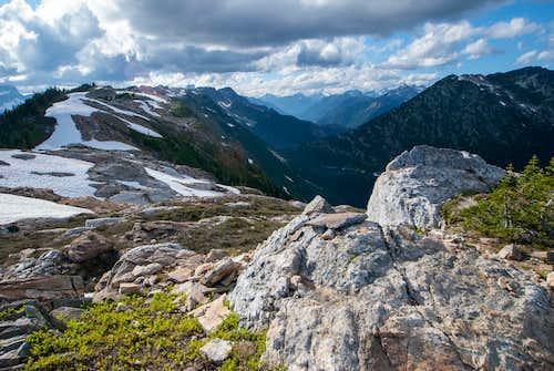 Stetattle Ridge from Sourdough Mountain