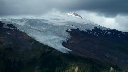 Easton and Squak Glaciers, Mount Baker.