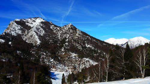 Monte Carone from Prati di Guil