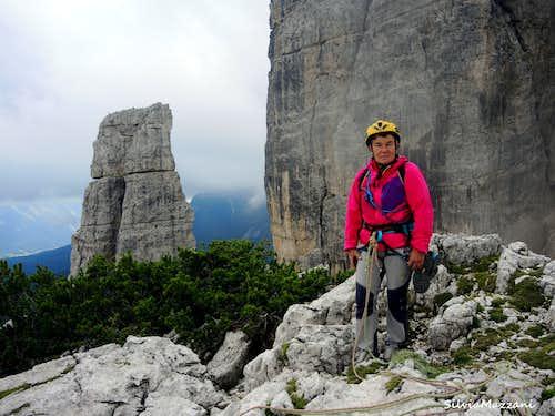 Summit of Torre Latina, Cinque Torri