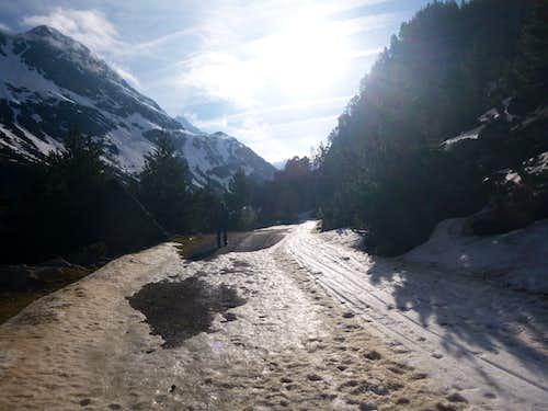 23 The road to La Bersurta