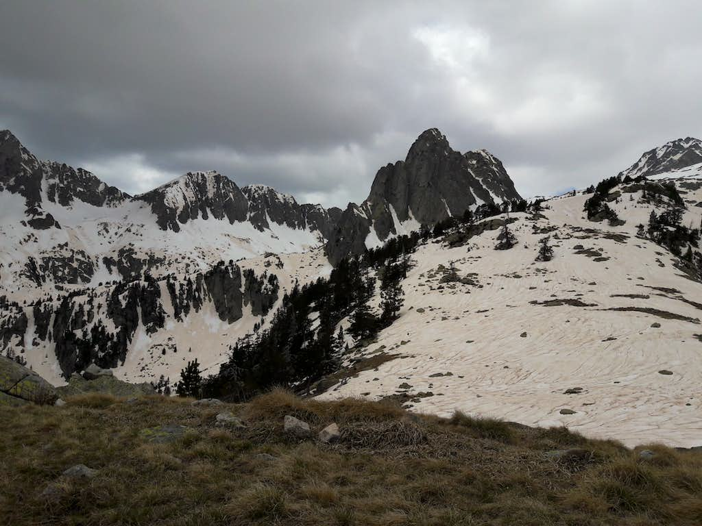61 Part of the fine cirque of crags
