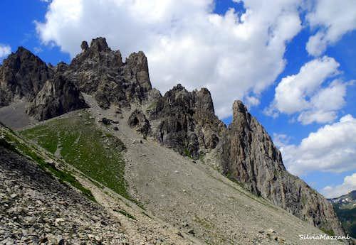 Tours de Crépin, Val Clareé (Cerces Massif)