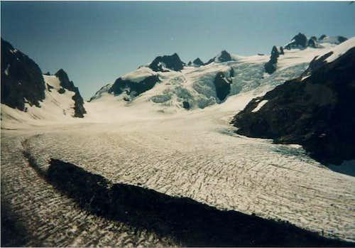 Blue Glacier on Mount...