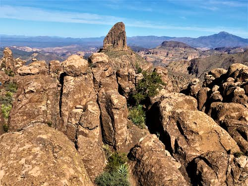 Fremont Peak - Superstition Mountains
