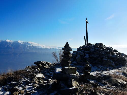 Monte Baldo seen from the summit of Cima Comèr