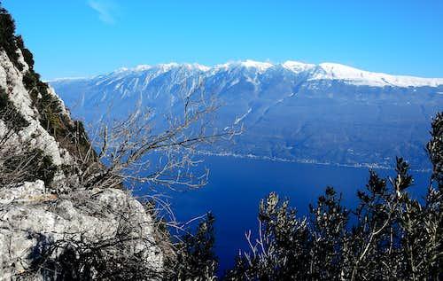 Monte Baldo from Cima Comèr