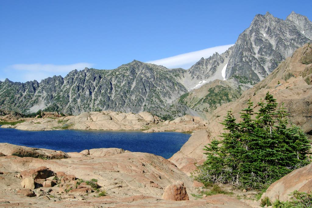 Ingalls Lake and Mount Stuart