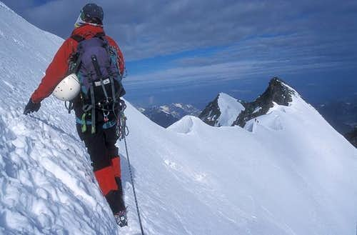 during the traverse of...