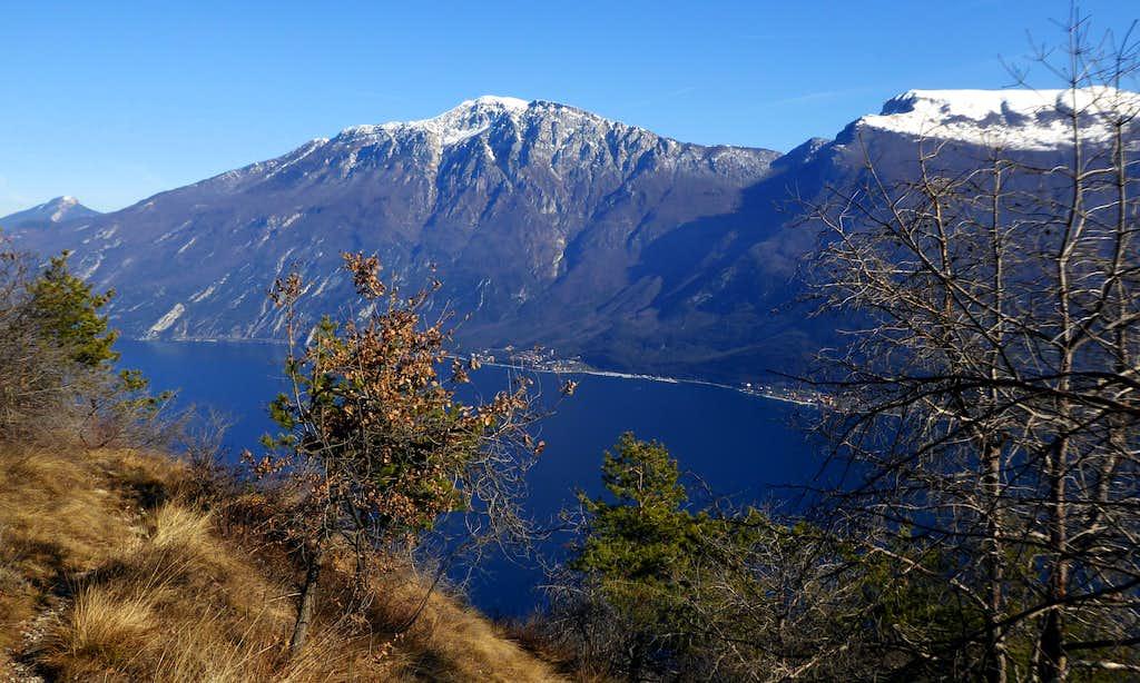 Monte Altissimo and Colma di Malcesine seen from Monte Bestone