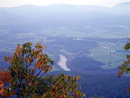 Shenandoah river from Kennedy Peak