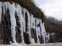 Ice, Hog Pen Gap, GA...yes...