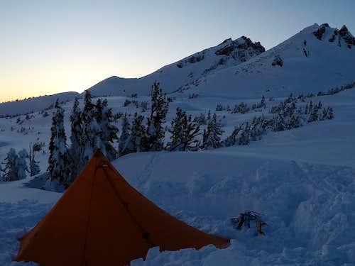 Basecamp near Broken Top
