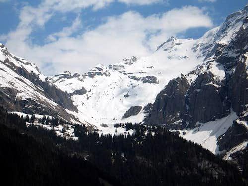 Ammerten valley. The downhill...
