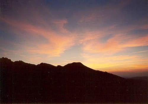 Nice sunset at Los...