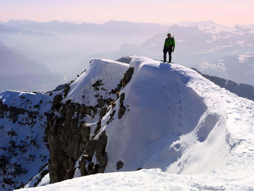 Monte Stivo summit ridge