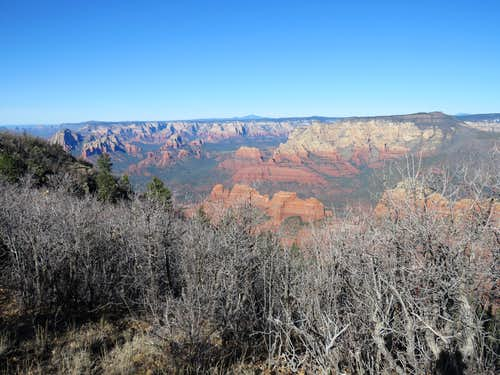 Munds Mountain, up Schnebly Hill, down Jacks Canyon