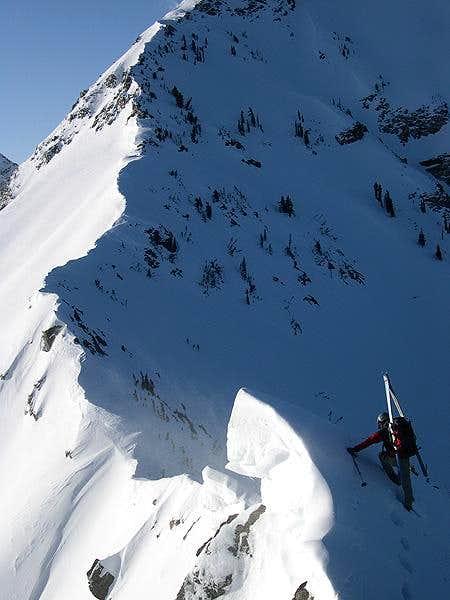N. Ridge of Twin Peaks