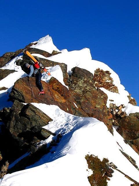 N. Ridge of Twin