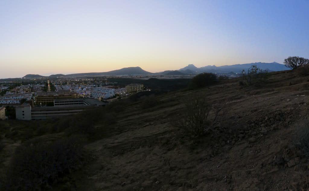 Evening on Tenerife