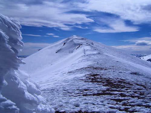 Summit of Deep Creek. April...