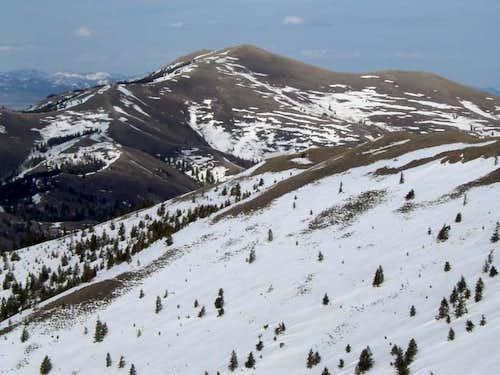 West Ridge of Deep Creek....