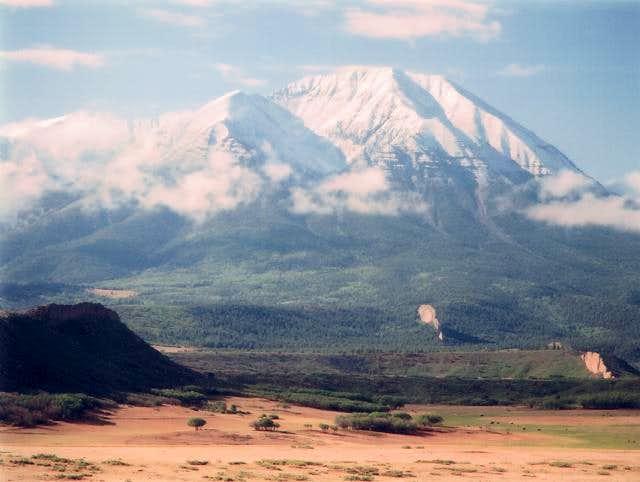 West Peak during early June...