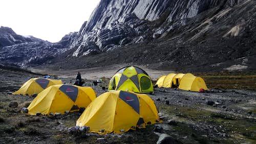Base Camp at Carstensz Pyramid