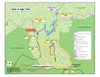 Wilson Peak Access Map