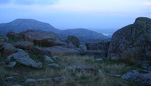 Mount Scott at twilight....