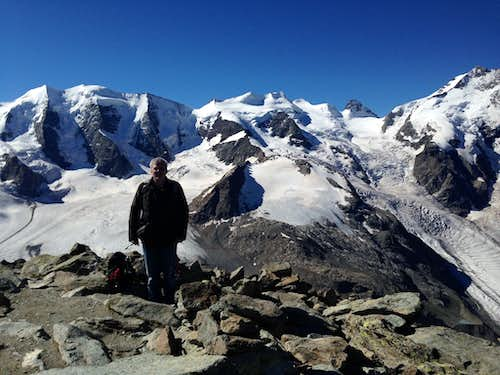 Me on the summit of Munt Pers