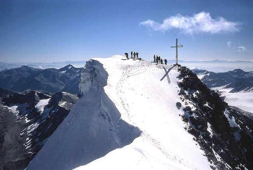 The main summit.