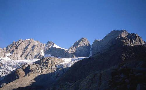 The south side of Bernina...