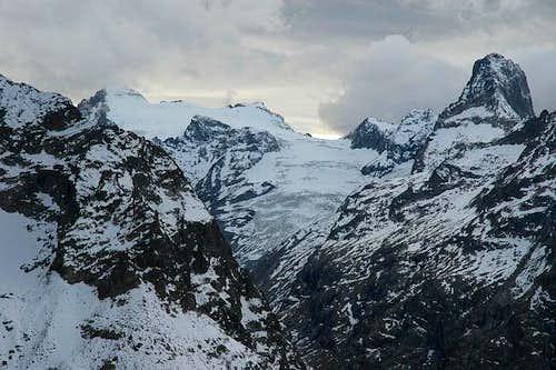 Glacier des Rouies et du Chardon